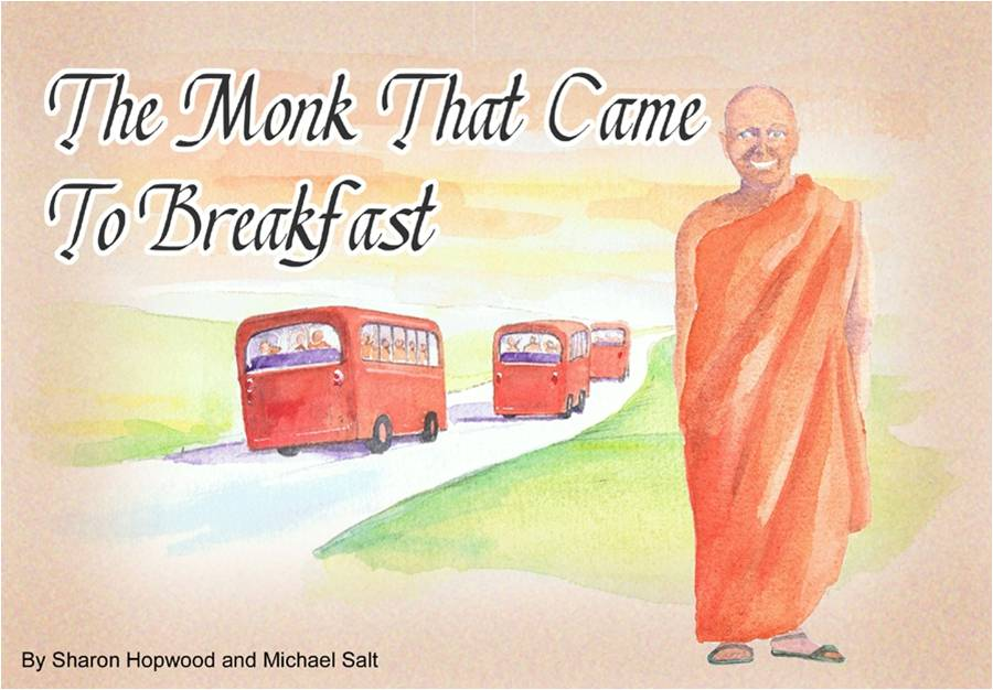 The Monk That Came To Breakfast - Front cover
