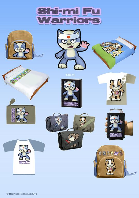 Shi-Mi Fu Merchandise Sheet