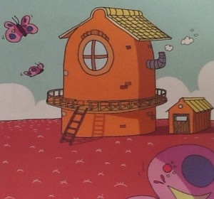 Moo the Monster's house